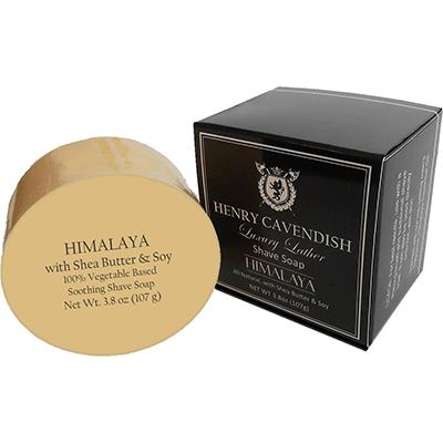 Henry Cavendish Himalaya Shaving Soap with Shea Butter