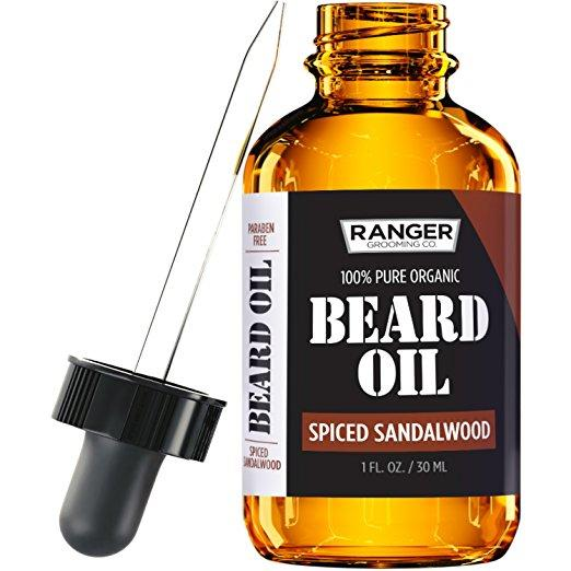 Leven Rose Sandalwood Beard Oil